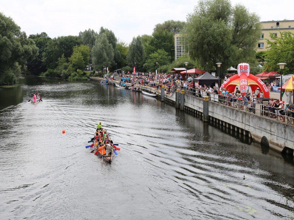 Drachenbootrennen in Oranienburg
